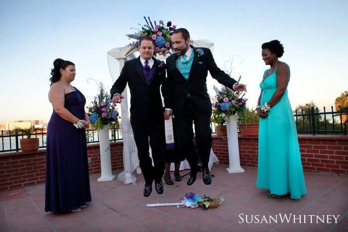 Gay weddings, African American wedding officiants