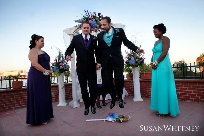 Gay weddings, African American wedding officiants