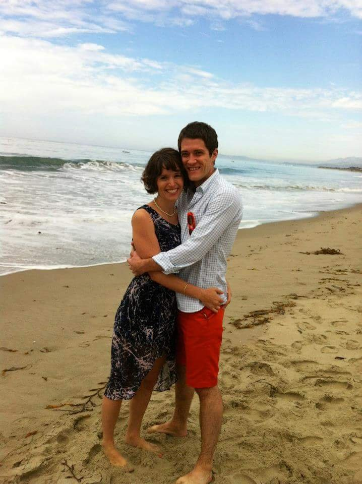Beach elopement, Carpinteria State Beach