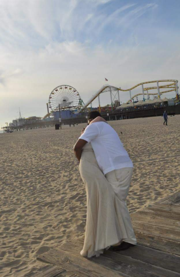 Santa Monica Beach Elopement