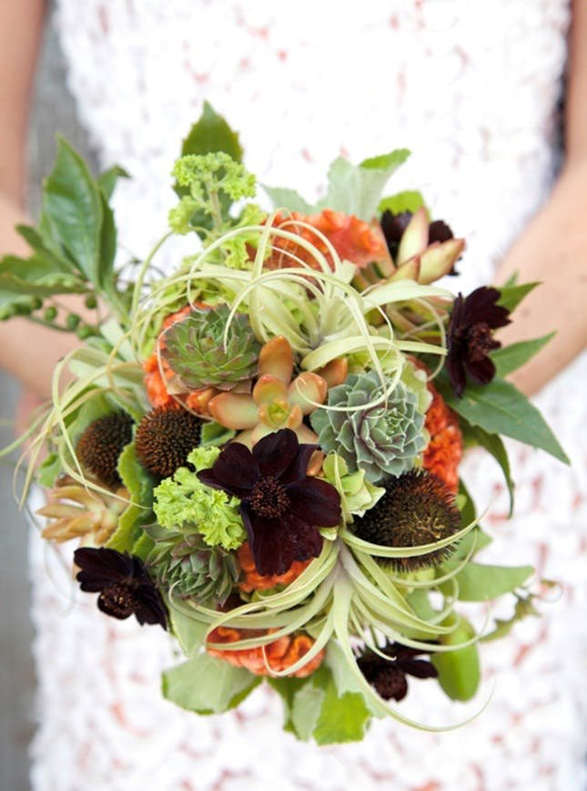 The Most Awesome Autumn Florals For Your Awesome Autumn Wedding