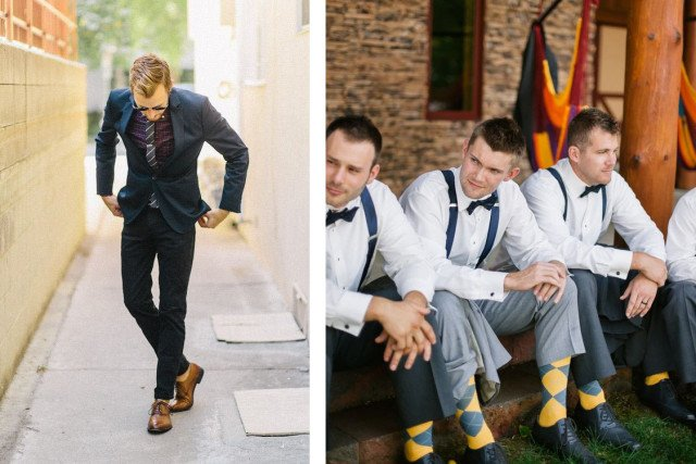 How to choose a necktie for a wedding