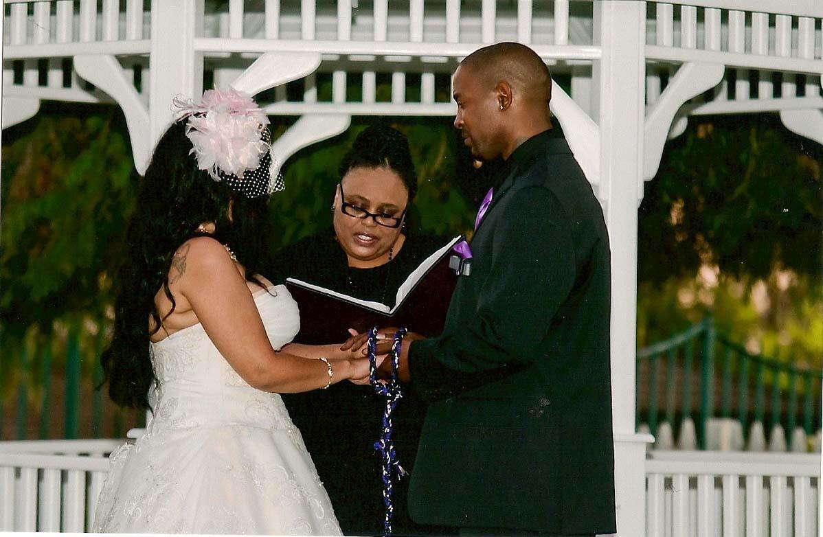 Feminist Wedding, African American Wedding Officiant, Los Angeles