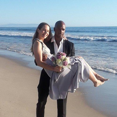 African-American Wedding Officiants, Los angeles wedding officiants, beach weddings,