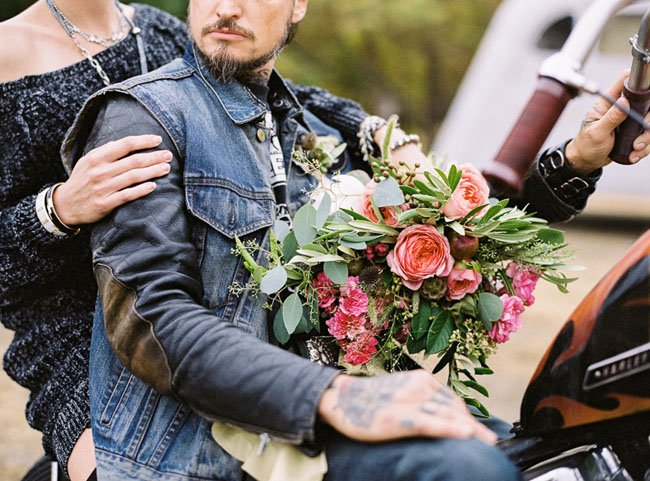 Motorcycle Elopement,  Los Angeles wedding officiant