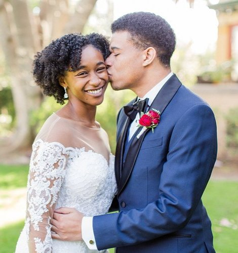 African American Wedding.African American Wedding Officiants Talking Wed